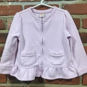 Gymboree Zipper Cardigan sz 2T  3T